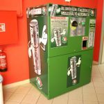 One of the early Returpack reverse vending machines in Hungary (picture: Returpack)